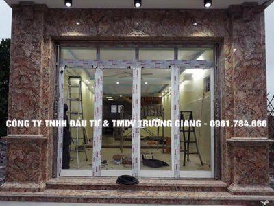 Mẫu cửa nhôm kính đẹp tại Ninh Bình 6