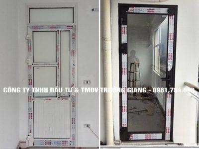 Mẫu cửa nhôm kính đẹp tại Ninh Bình 15
