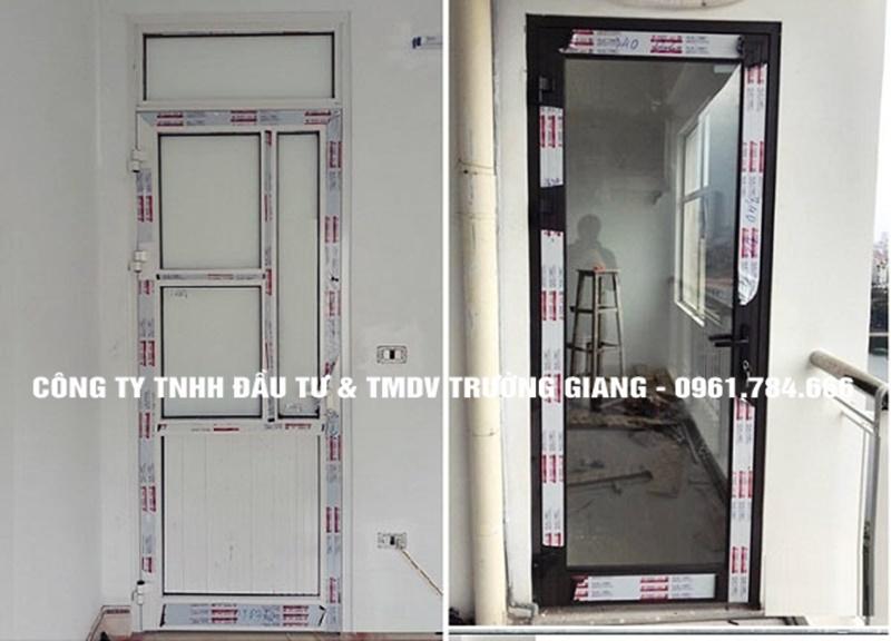 Mẫu cửa nhôm kính đẹp tại Ninh Bình-15