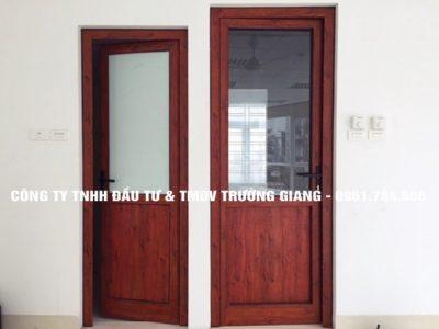 Mẫu cửa nhôm kính đẹp tại Ninh Bình 16