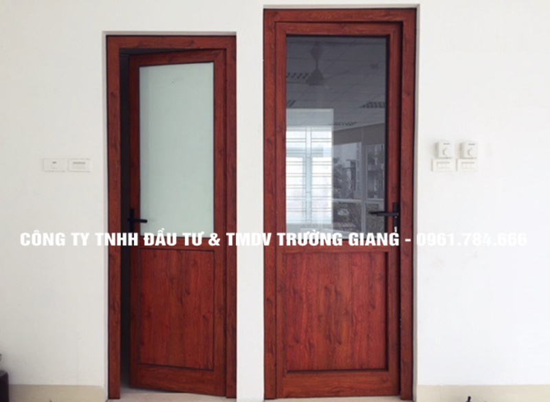 Mẫu cửa nhôm kính đẹp tại Ninh Bình-16