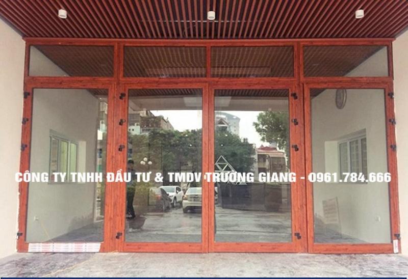 Mẫu cửa nhôm kính đẹp tại Ninh Bình-42