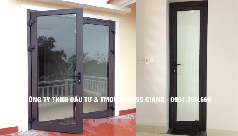 Mẫu cửa nhôm kính đẹp tại Ninh Bình-50