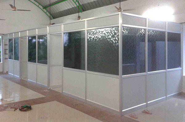 Vách ngăn văn phòng tại Ninh Bình