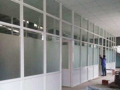 Báo giá làm cửa nhôm kính, vách ngăn nhôm kính đẹp giá rẻ tại Ninh Bình