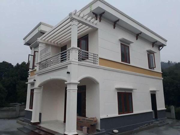 Làm cửa nhôm xingfa cho Biệt thự ở Ninh Bình