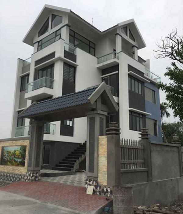 Cửa nhôm kính xingfa Ninh Bình - Mẫu Biệt thự tại Ninh Bình lắp đặt Cửa nhôm Xingfa tại Ninh Bình