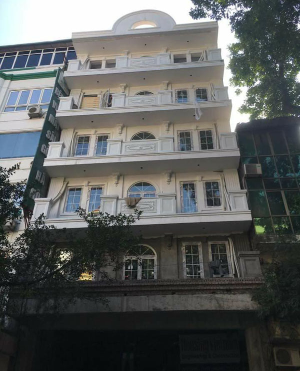 Nhà phố sử dụng của nhôm xingfa tại Ninh Bình