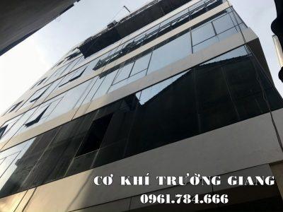 Cửa Nhôm kính Ninh Bình, lắp đặt mặt dựng kính đường Nguyễn Khang